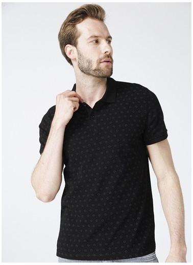 Lee Cooper Lee Cooper Polo T-Shirt Siyah